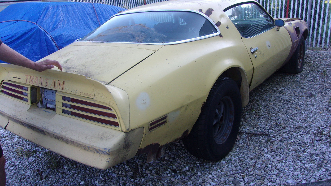 1976 Pontiac Trans AM 455, 4sp car For Sale (picture 5 of 6)