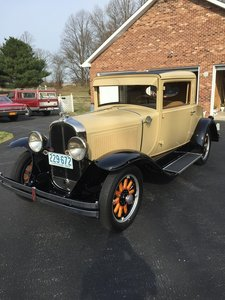1929 Pontiac 3 window coupe (Ridgely, MD) $60,000 obo