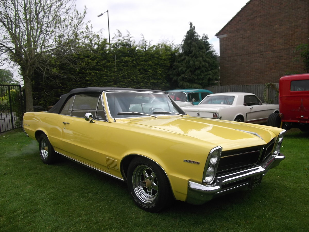 1965 Pontiac Le Mans Convertible 326 v8 Automatic, not GTO For Sale (picture 1 of 6)