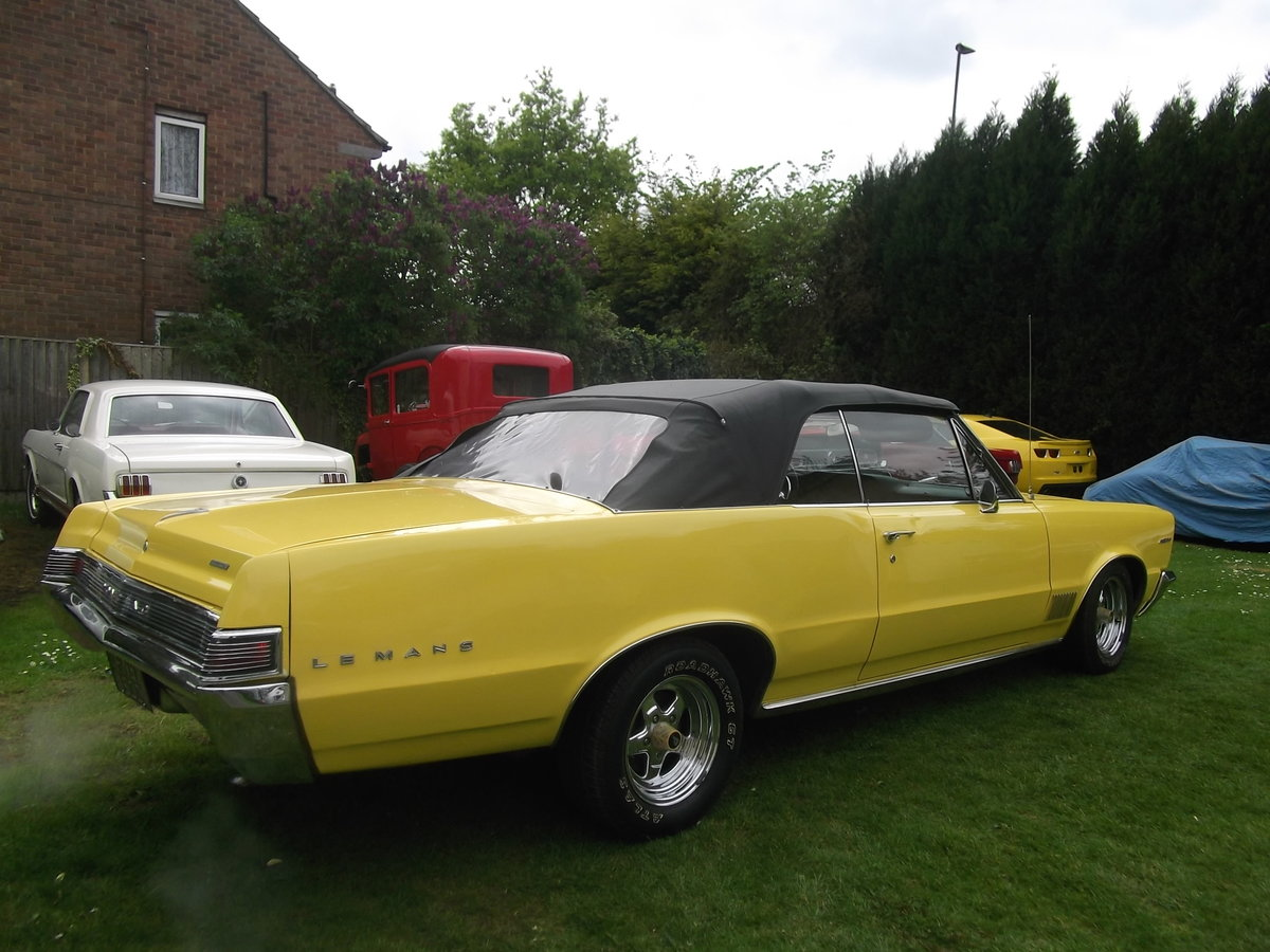 1965 Pontiac Le Mans Convertible 326 v8 Automatic, not GTO For Sale (picture 2 of 6)