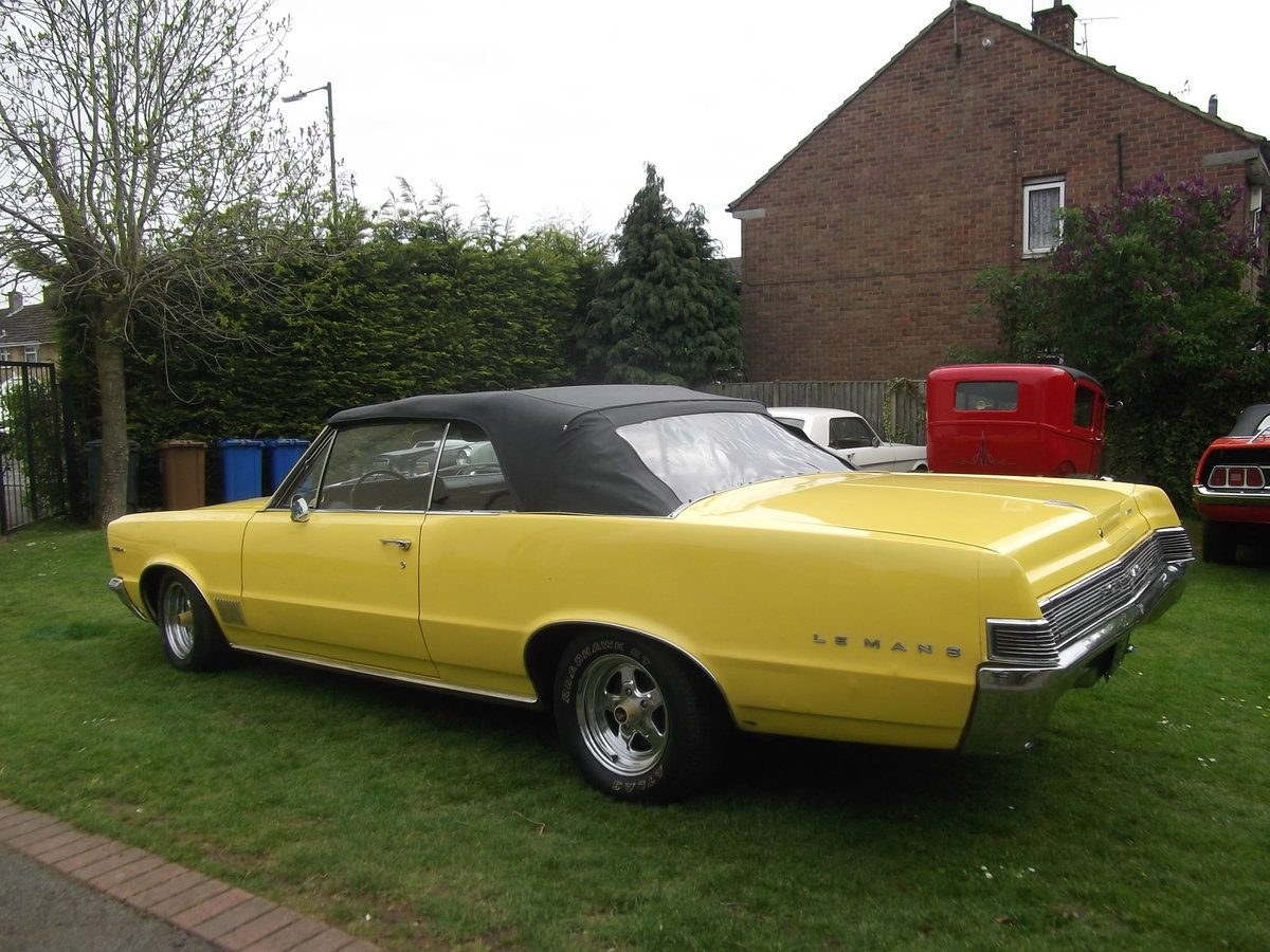 1965 Pontiac Le Mans Convertible 326 v8 Automatic, not GTO For Sale (picture 4 of 6)