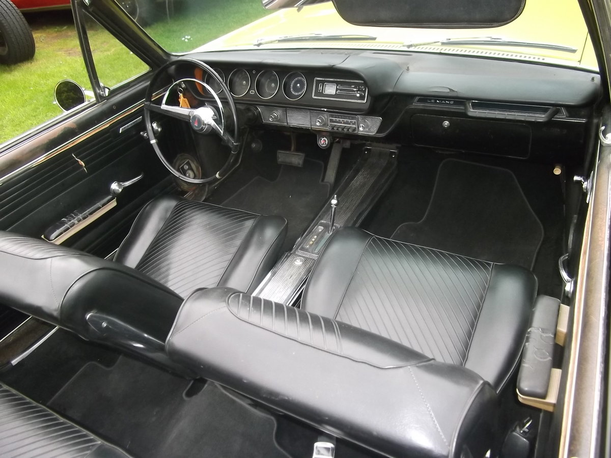 1965 Pontiac Le Mans Convertible 326 v8 Automatic, not GTO For Sale (picture 5 of 6)