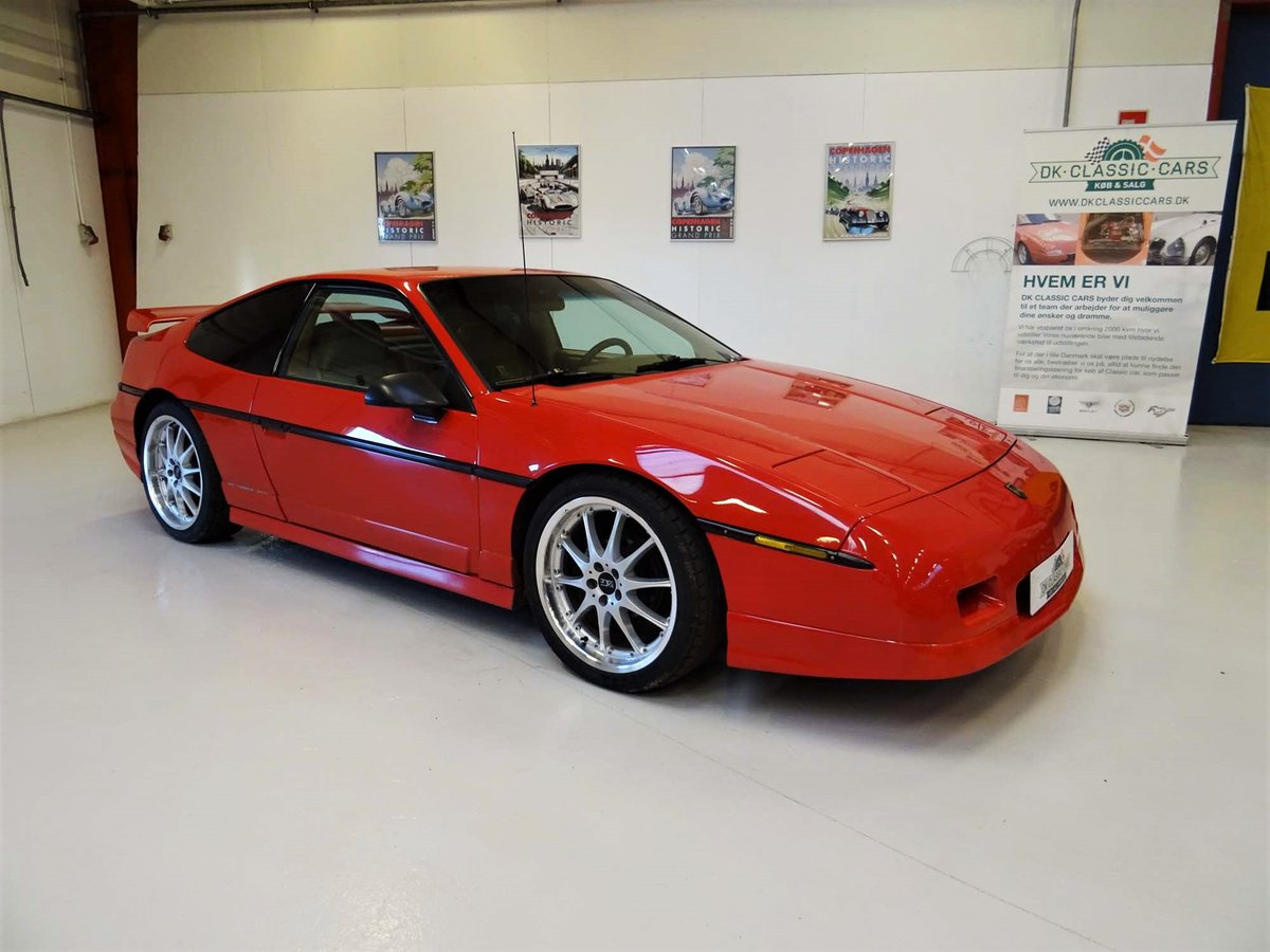 1986 Pontiac Fiero GT Fastback For Sale (picture 1 of 6)