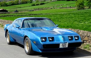 1980 PONTIAC FIREBIRD TRANS AM 6.6 LITRE V8 AMERICAN MUSCLE CAR For Sale