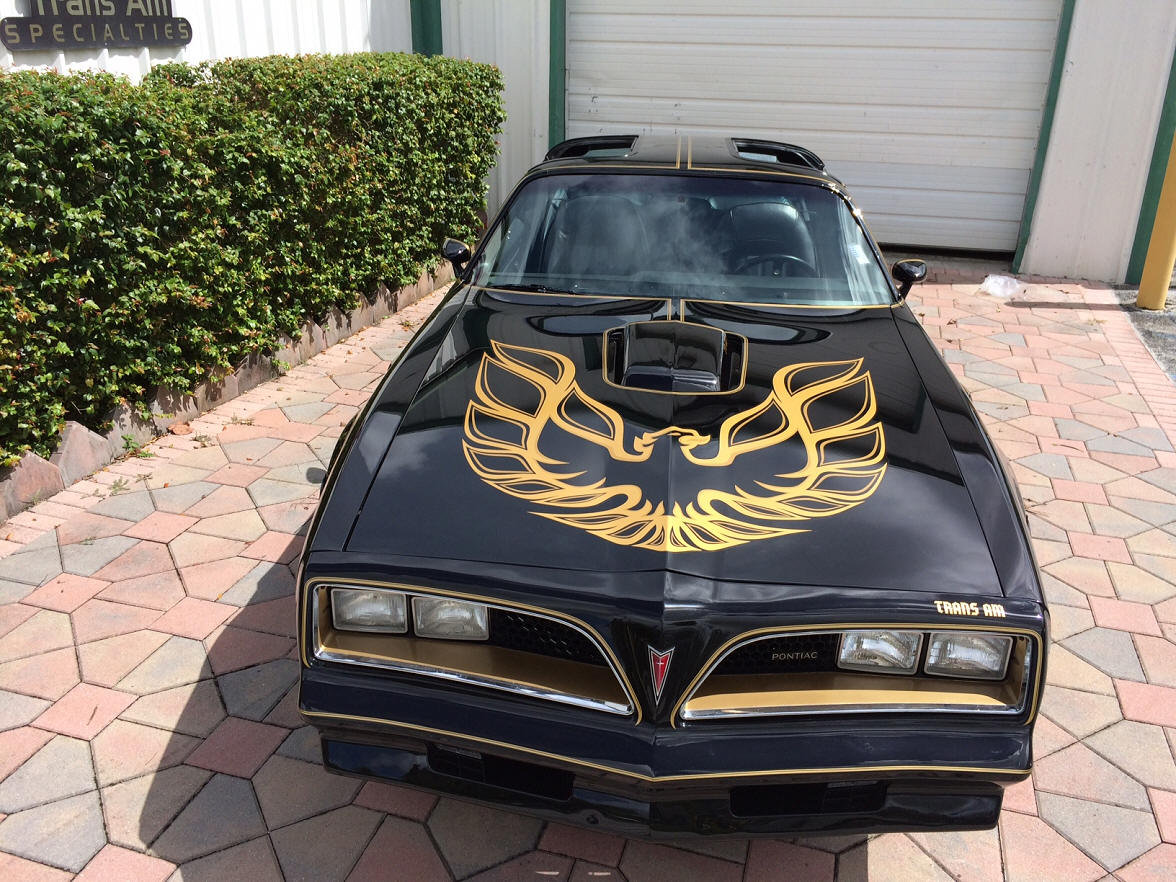 1977 Trans Am Bandit Y82 Special Edition 4 Speed Best in USA For Sale (picture 2 of 6)
