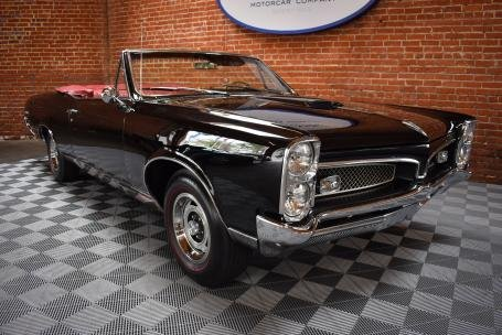 1967 Pontiac GTO Convertible = Black 4 Speed Manual $59.5k For Sale (picture 1 of 6)