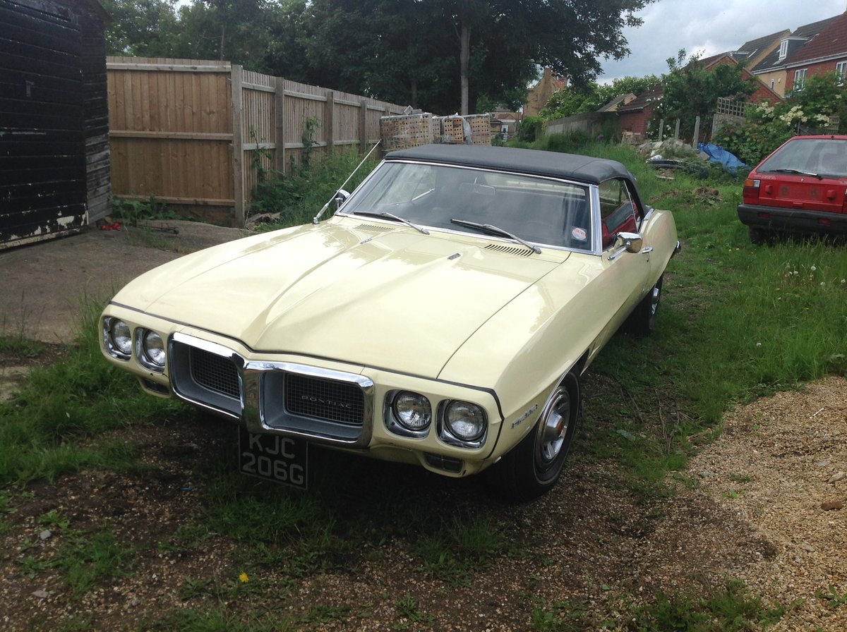 Rare 1969  firebird convertible For Sale (picture 1 of 1)