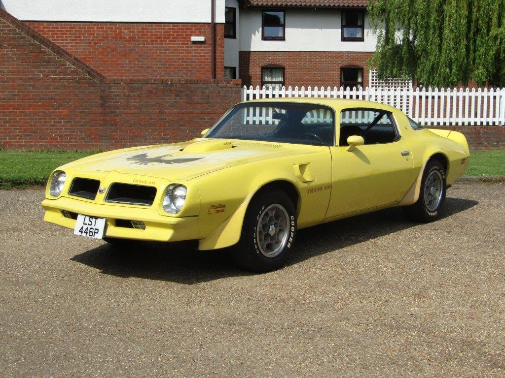 1976 Pontiac Firebird Trans Am 6.6 at ACA 15th June  For Sale (picture 1 of 6)