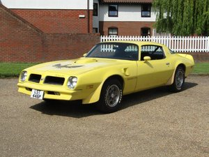 1976 Pontiac Firebird Trans Am 6.6 at ACA 15th June  For Sale