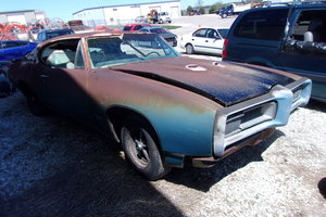 1968 Pontiac GTO with the 400, 4sp and air  For Sale