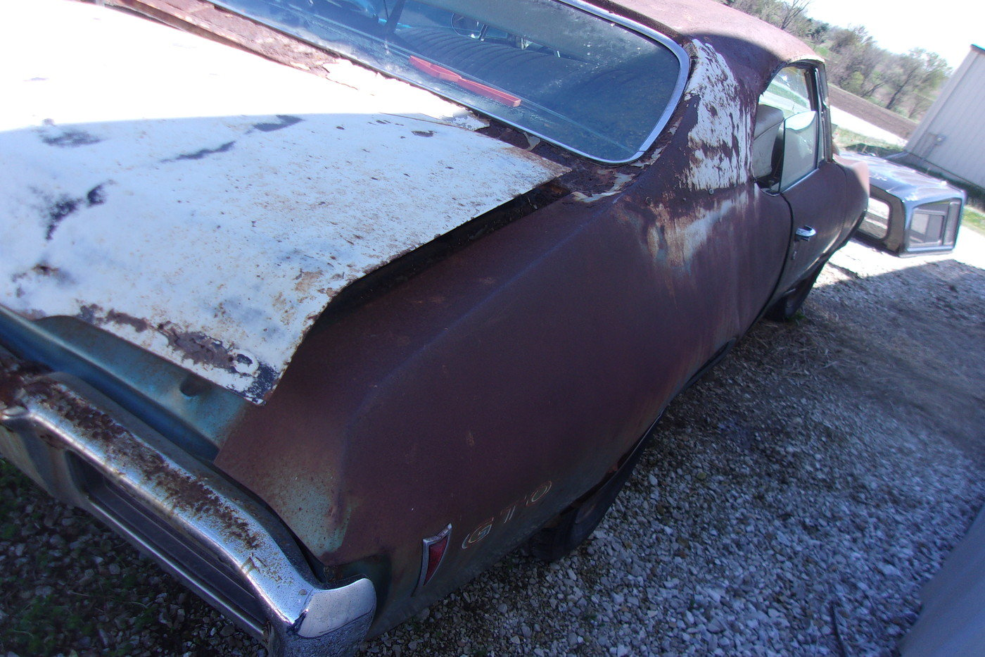 1968 Pontiac GTO with the 400, 4sp and air  For Sale (picture 6 of 6)