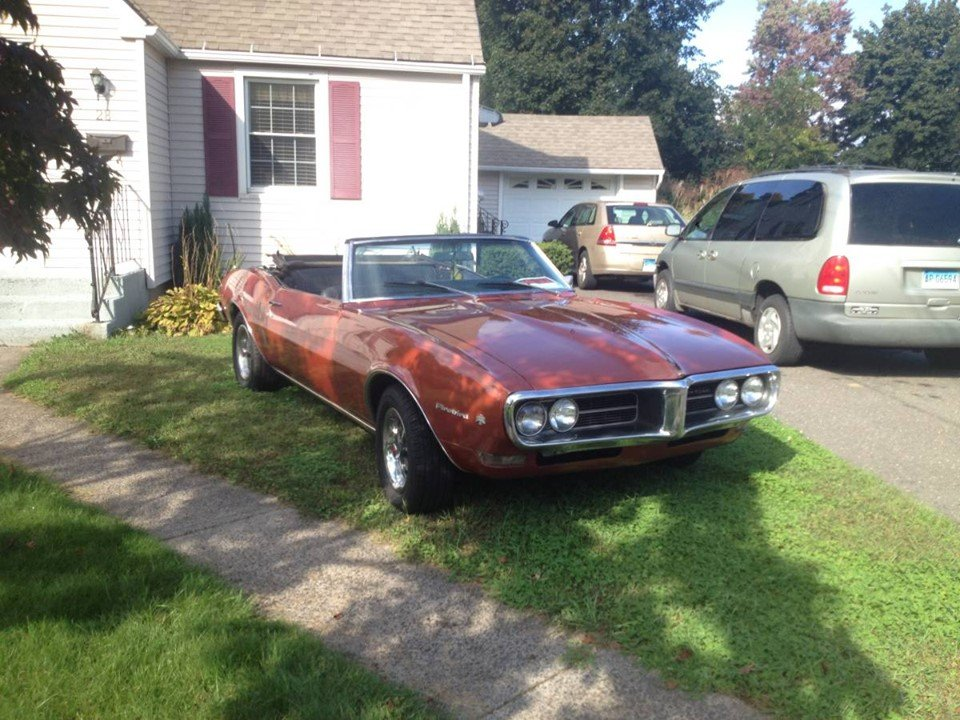 1968 Pontiac Firebird Convertible (Bristol, CT) $29,900 obo For Sale (picture 1 of 5)