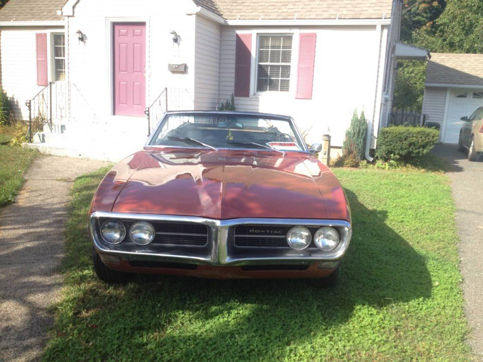 1968 Pontiac Firebird Convertible (Bristol, CT) $29,900 obo For Sale (picture 2 of 5)