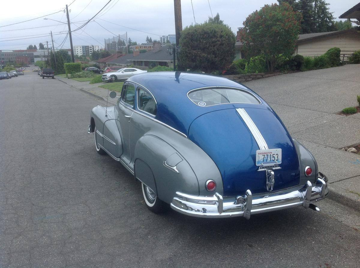 1948 Pontiac Torpedo Sedanette For Sale (picture 4 of 6)
