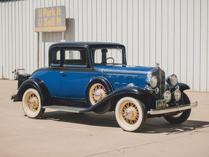 1932 Pontiac 5 window rumble seat Coupe For Sale by Auction
