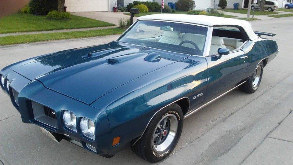 1970 Pontiac GTO Convertible (Springfield, IL) $62,500 obo For Sale (picture 1 of 6)