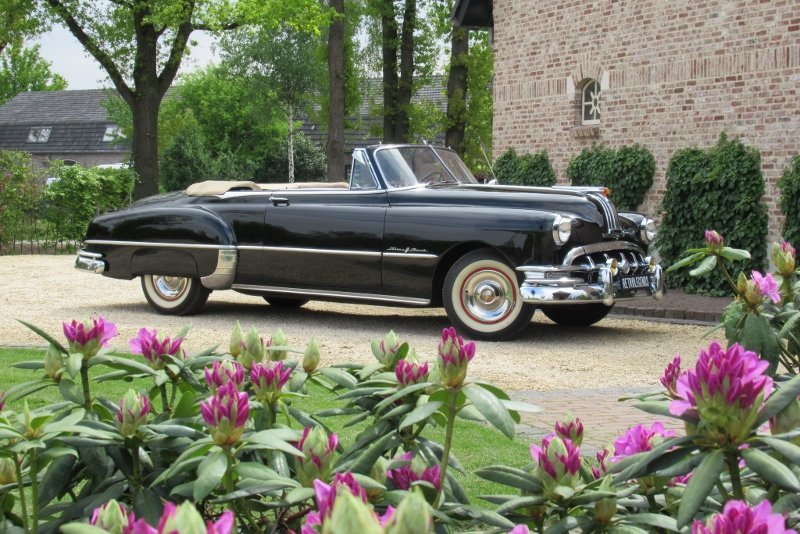 Pontiac Silver Streak 8 convertible lhd Hydramatic 1950 For Sale (picture 1 of 6)