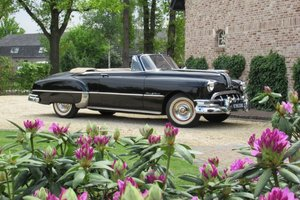 Pontiac Silver Streak 8 convertible lhd Hydramatic 1950