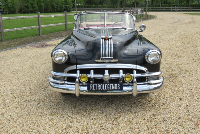 Pontiac Silver Streak 8 convertible lhd Hydramatic 1950 For Sale (picture 6 of 6)