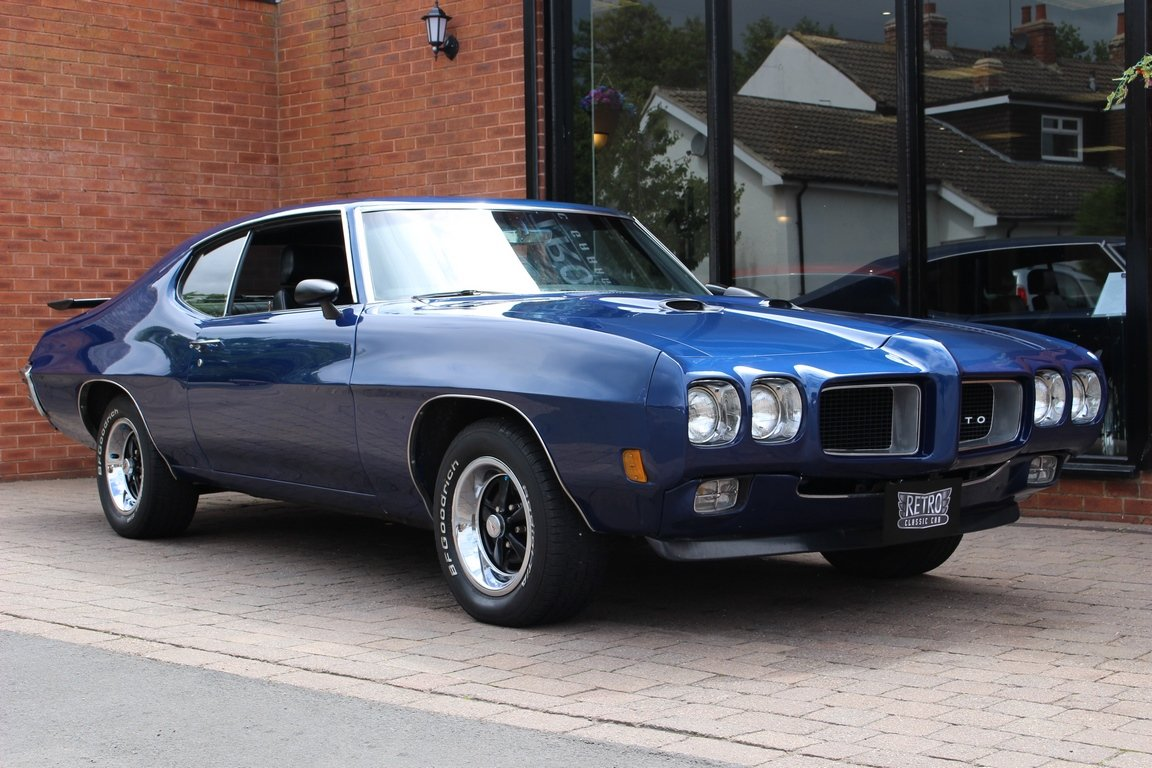 1970 Pontiac GTO 400 6.6 V8  SOLD (picture 1 of 6)
