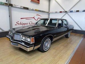 1980 Pontiac Bonneville V8 Sedan Second Owner 19.000ML For Sale