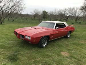 1970 PONTIAC GTO ONE OF 241 455 CONVERTIBLES, A/C, PS, PB For Sale
