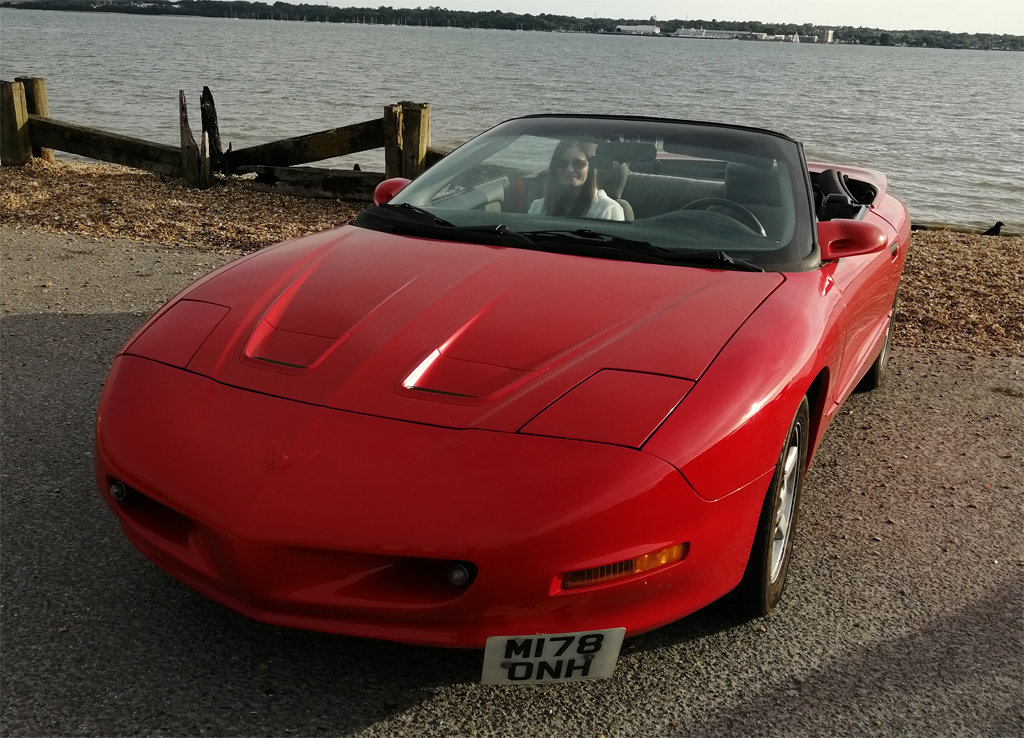 1995 Pontiac Formula V8 convertible For Sale (picture 1 of 6)