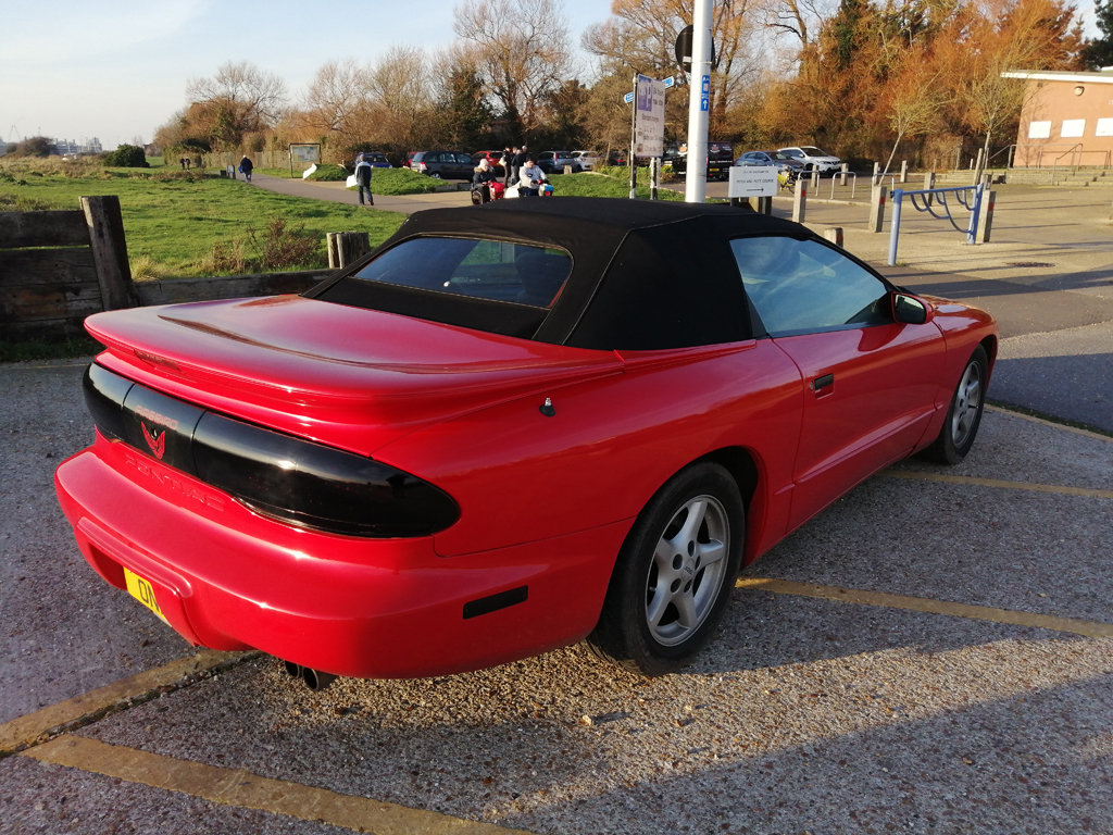 1995 Pontiac Formula V8 convertible For Sale (picture 2 of 6)
