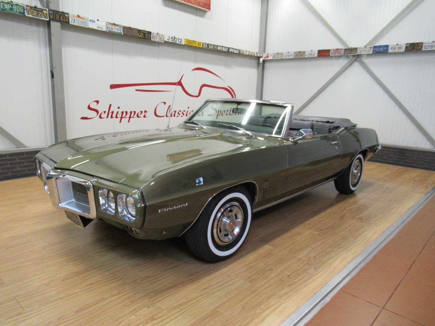 1969 Pontiac Firebird 350CU V8 Convertible Second owner For Sale (picture 1 of 6)