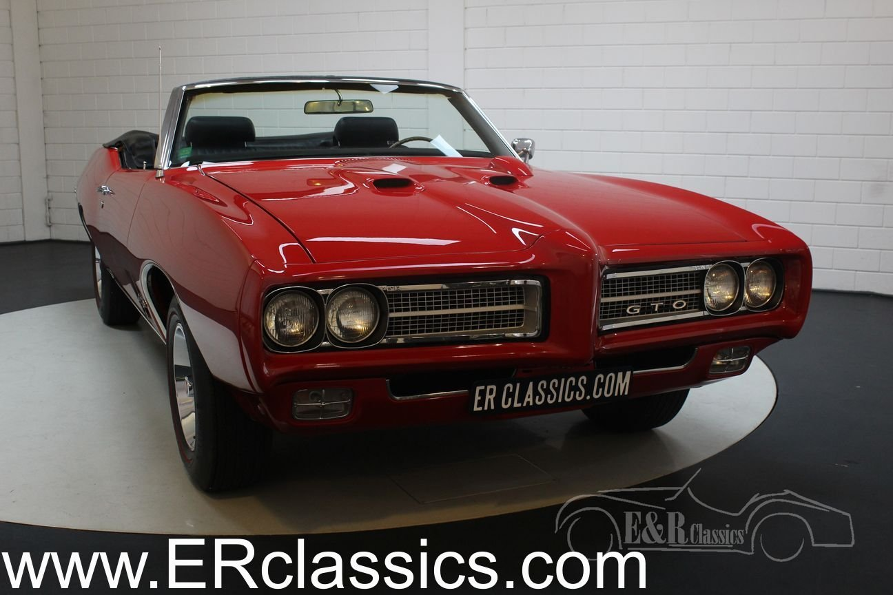 Pontiac GTO Convertible 1969 Ultimate Muscle Car For Sale (picture 1 of 6)