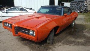 1969 Pontiac Tempest Lemans Custom S Convertible Rare $17.9k For Sale