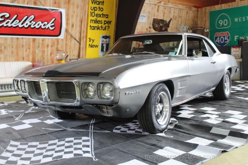 1969 PONTIAC Firebird 350 For Sale by Auction (picture 1 of 6)