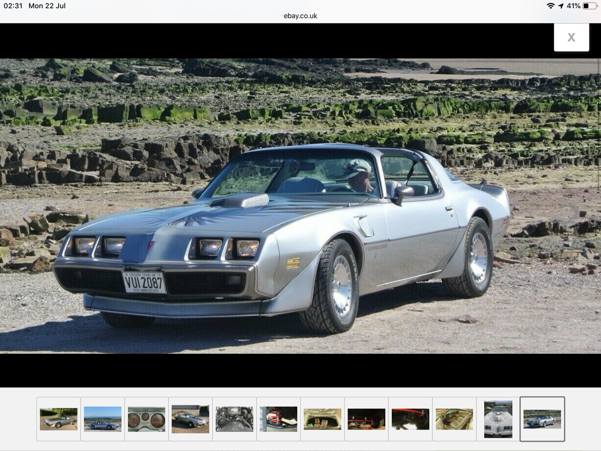 1979 Pontiac Trans Am Firebird Anniversary Edition  For Sale (picture 2 of 5)
