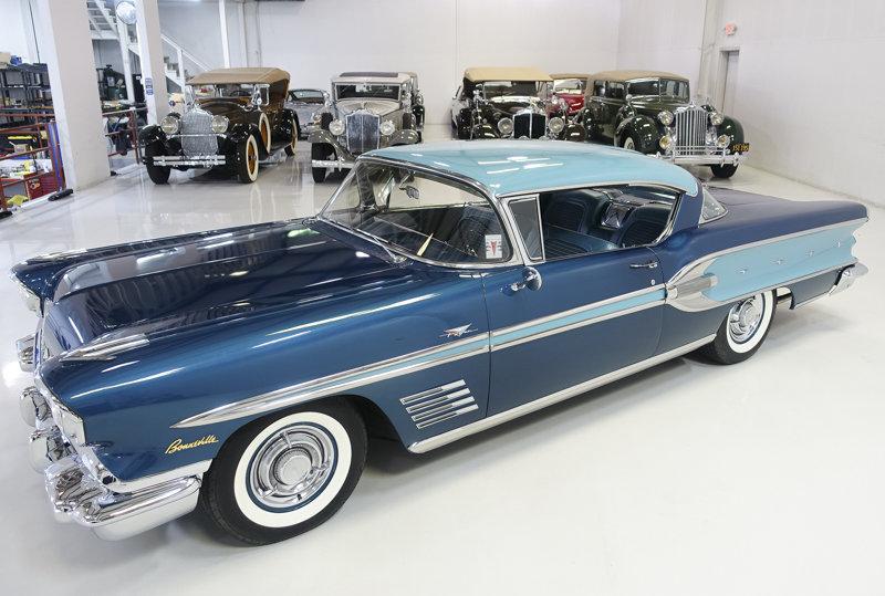 1958 Pontiac Bonneville Sport Coupe For Sale (picture 2 of 6)