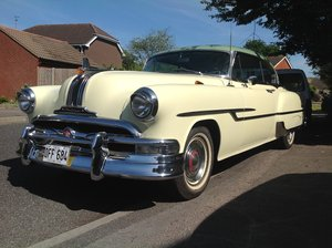 1953 Pontiac custom coupe For Sale