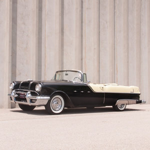 1955 Pontiac Star Chief Convertible = low 1k miles  $41.9k For Sale