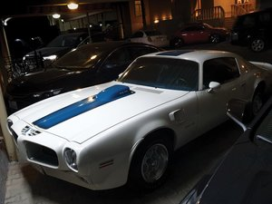1971 Pontiac Firebird Trans Am 455 H.O.  For Sale by Auction