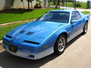 1985 Pontiac Trans Am 305-FI Auto  Blue  low miles 82k $7.5k For Sale