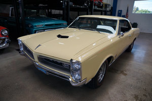 1966 Pontiac GTO Tri-Power 4 spd 2 Dr Hardtop Coupe For Sale