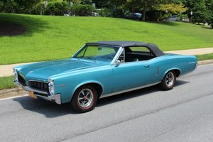 1967 Pontiac Le Mans Convertible Correct PHS Restored $29.9k For Sale