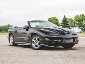 2001 Pontiac Firebird Trans Am WS6 Convertible  For Sale by Auction
