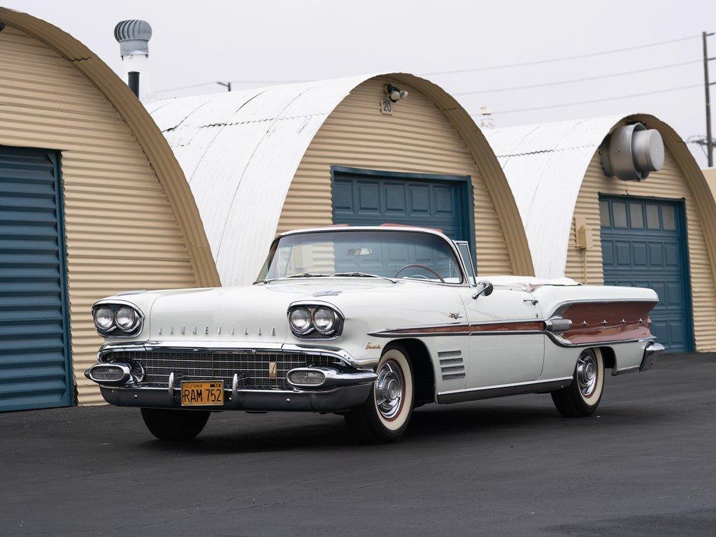 1958 Pontiac Bonneville Custom Convertible  For Sale by Auction (picture 1 of 6)