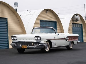 1958 Pontiac Bonneville Custom Convertible  For Sale by Auction