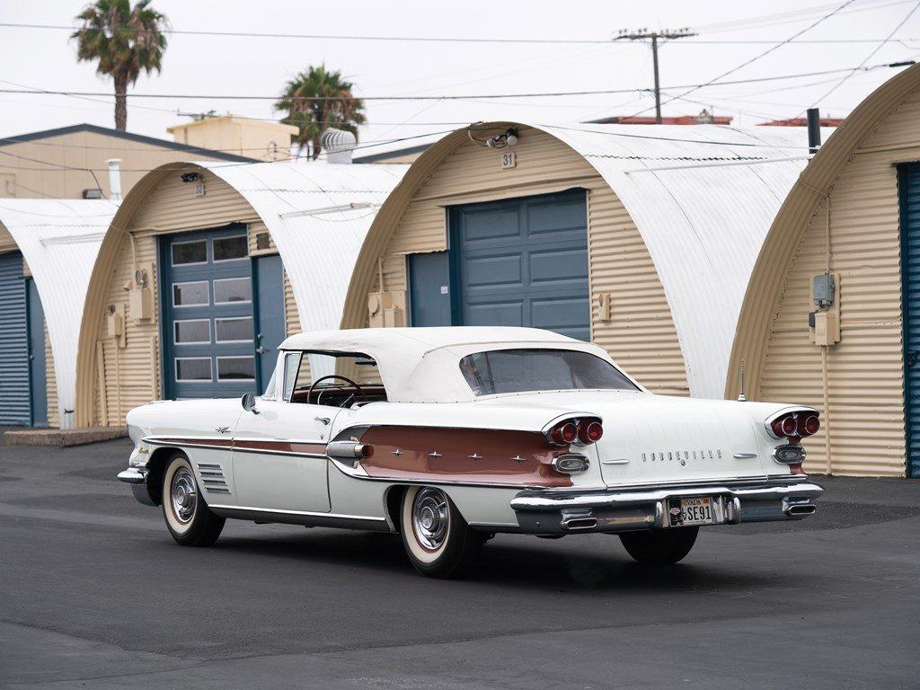 1958 Pontiac Bonneville Custom Convertible  For Sale by Auction (picture 2 of 6)