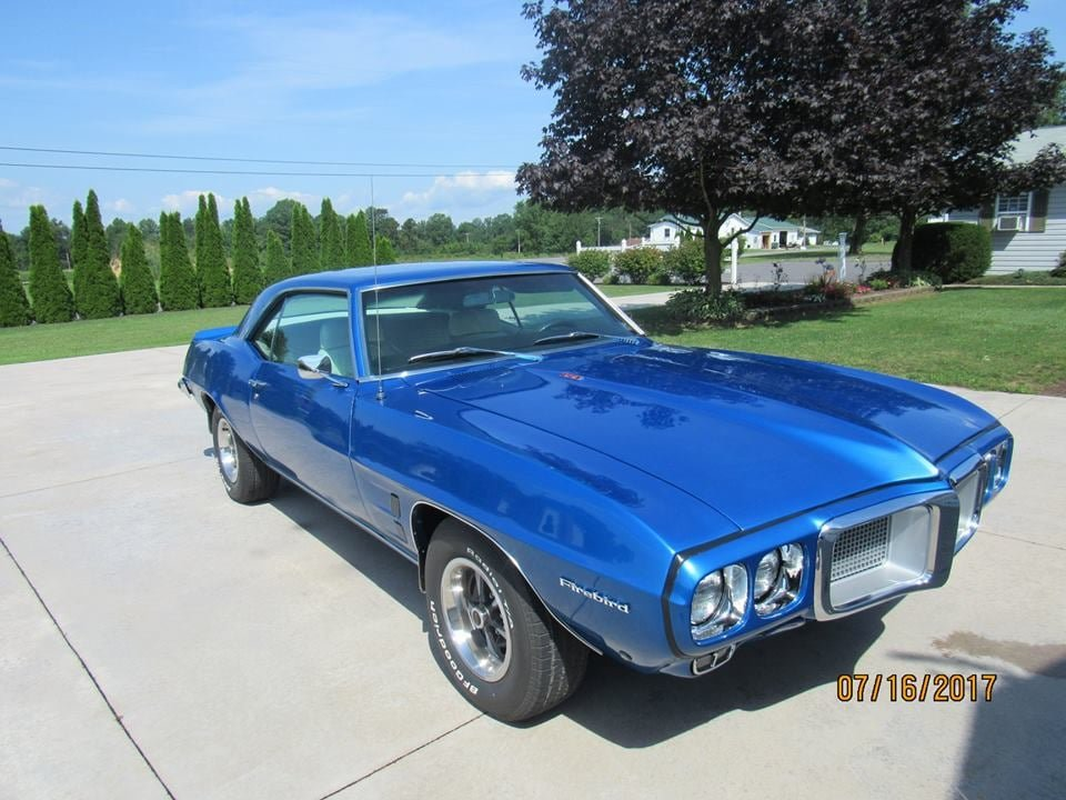 1969 Pontiac Firebird (Turbotville, PA) $34,900 obo For Sale (picture 1 of 6)