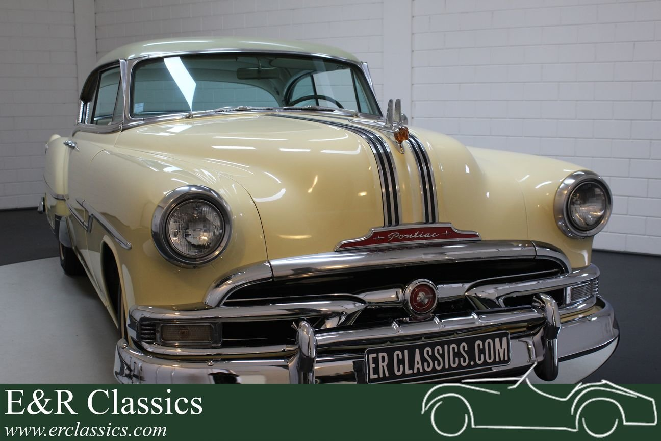 Pontiac Chieftain 1953 8 cyl 2 door pilarless coupe For Sale (picture 1 of 6)