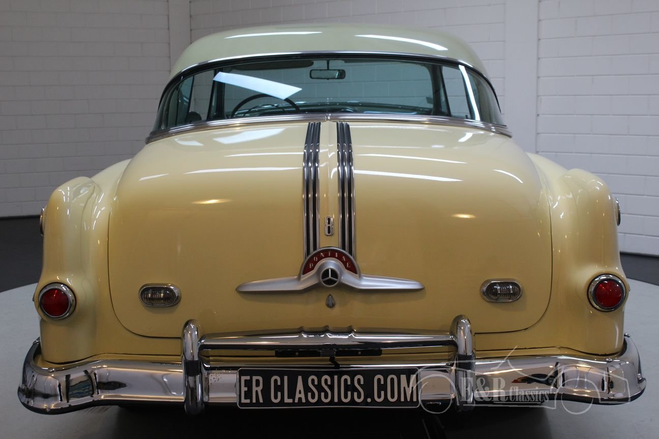 Pontiac Chieftain 1953 8 cyl 2 door pilarless coupe For Sale (picture 5 of 6)