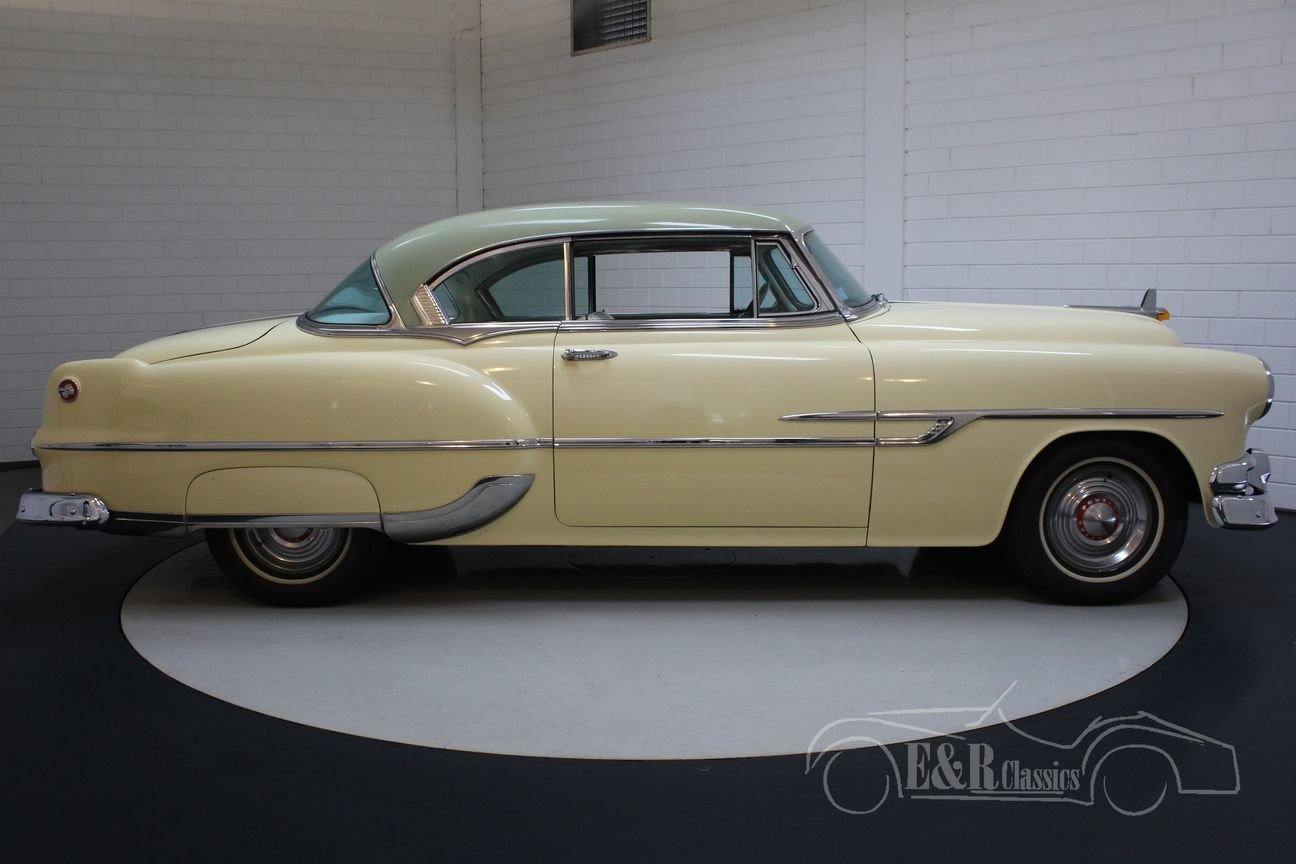 Pontiac Chieftain 1953 8 cyl 2 door pilarless coupe For Sale (picture 6 of 6)