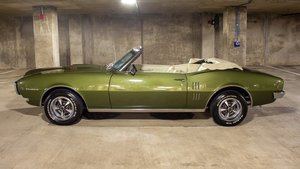 1968 Pontiac Firebird Convertible 400(~)400 cold AC PHS $49. For Sale