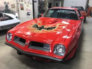 1975 Pontiac Firebird Trans Am Faster LS L99 400-HP $59.9k For Sale (picture 1 of 6)
